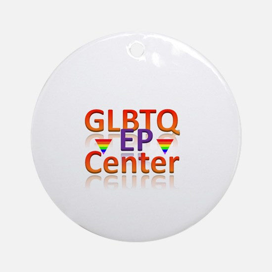 EL Paso Center Ornament (Round)