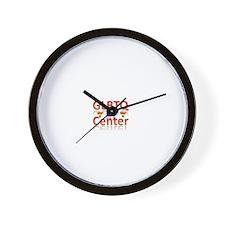EL Paso Center Wall Clock