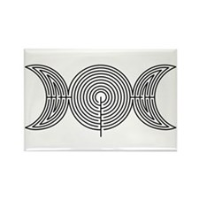 Moon Labyrinth Rectangle Magnet (10 pack)