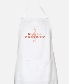 Music Therapy BBQ Apron