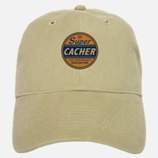 SuperCacher Baseball Baseball Cap