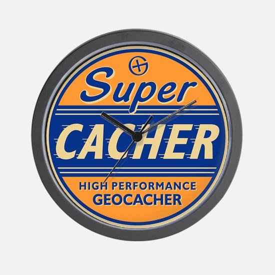 SuperCacher Wall Clock