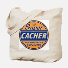 SuperCacher Tote Bag