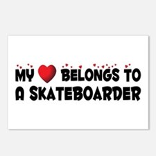 Belongs To A Skateboarder Postcards (Package of 8)
