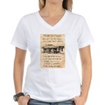 Judge Roy Bean Women's V-Neck T-Shirt