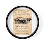 Judge Roy Bean Wall Clock