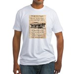 Judge Roy Bean Fitted T-Shirt