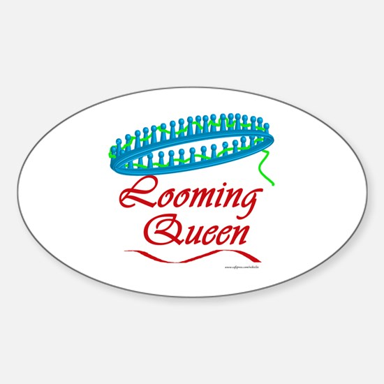 Looming Queen Oval Decal