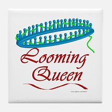 Looming Queen Tile Coaster