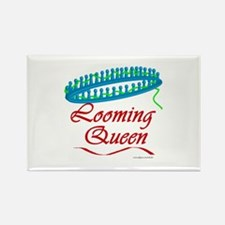 Looming Queen Rectangle Magnet