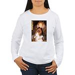Queen / Collie (tri) Women's Long Sleeve T-Shirt