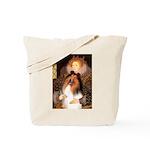Queen / Collie (tri) Tote Bag