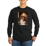 Queen / Collie (tri) Long Sleeve Dark T-Shirt