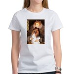 Queen / Collie (tri) Women's T-Shirt