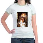 Queen / Collie (tri) Jr. Ringer T-Shirt