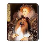 Queen / Collie (tri) Mousepad