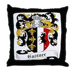 Castner Family Crest Throw Pillow