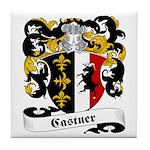 Castner Family Crest Tile Coaster