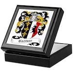 Castner Family Crest Keepsake Box