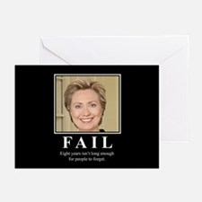Hillary FAIL Greeting Cards (Pk of 10)