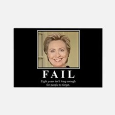 Hillary FAIL Rectangle Magnet