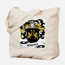 Clausen Family Crest Tote Bag