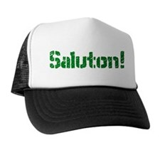 Saluton/Hello Trucker Hat
