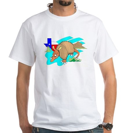 ARMADILLO White T-Shirt