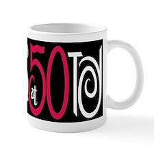 Fabulous at 50 Black Small Mug