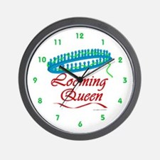 Looming Queen Wall Clock