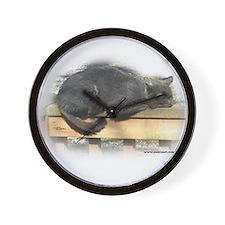 Jonesy Sleeping Wall Clock