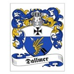 Dallmer Family Crest Small Poster