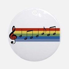 Music Therapy Ornament (Round)