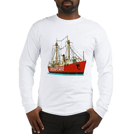 The Lightship Chesapeake Long Sleeve T-Shirt