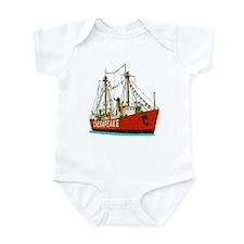 The Lightship Chesapeake Infant Bodysuit