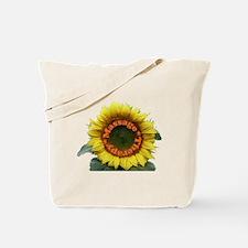 Massage Sun Flower Tote Bag