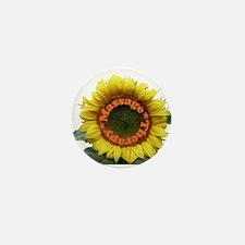 Massage Sun Flower Mini Button (100 pack)