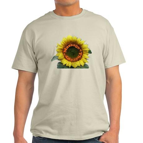 Massage Sun Flower Light T-Shirt