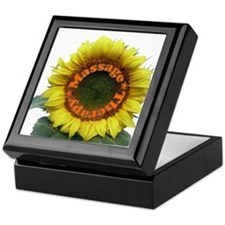 Massage Sun Flower Keepsake Box