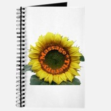 Massage Sun Flower Journal