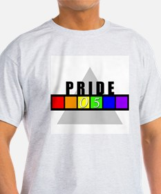 (Gay) Pride '05 Ash Grey T-Shirt
