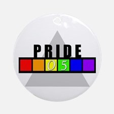 (Gay) Pride '05 Keepsake (Round)
