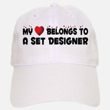 Belongs To A Set Designer Baseball Baseball Cap