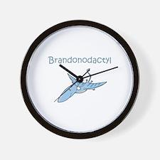 Brandonodactyl Wall Clock