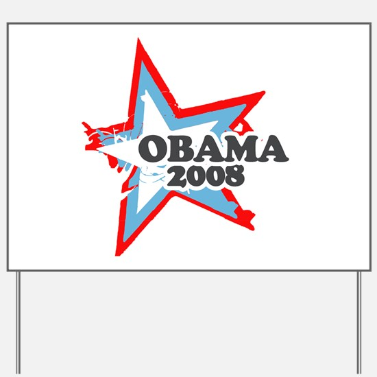 Barack Obama Yard Sign