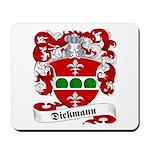Dickmann Family Crest Mousepad