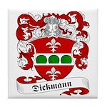 Dickmann Family Crest Tile Coaster