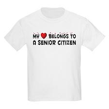 Belongs To A Senior Citizen T-Shirt