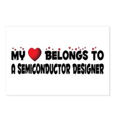 Belongs To A Semiconductor Designer Postcards (Pac