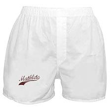 Mathlete (Blackberry) Boxer Shorts